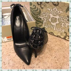 💜 Limelight Black Stilettos